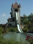 Wasserbahn in der Burg Rauhe Klinge