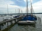 Kleiner Jachthafen am Ammersee