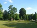 Blick auf den Südgarten: Der sehenswerte Südgarten der Residenz